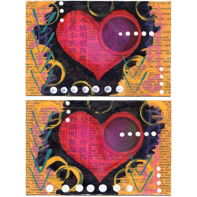 Heart Postcards
