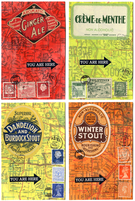You Are Here Postcards